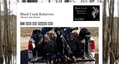 Preview of blackcreekretrievers.net